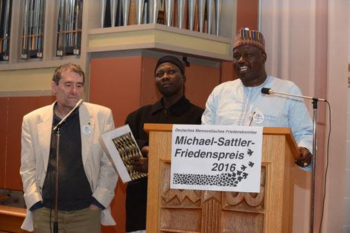 Michael-Sattler-Friedenspreis 2016 für Christlich-Muslimische Friedensinitiative in Nigeria